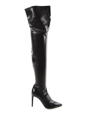 Sergio Rossi: boots - Matrix Stretch leather boots