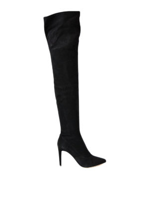 Sergio Rossi: boots - Matrix Stretch suede boots