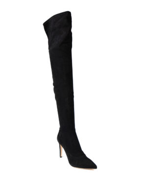 Sergio Rossi: boots online - Matrix Stretch suede boots