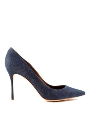 Sergio Rossi: court shoes - Denim Godiva pumps