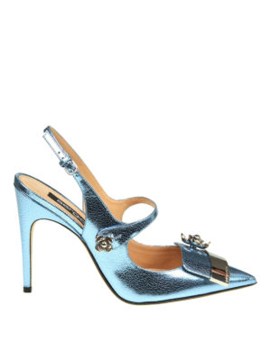 Sergio Rossi: court shoes - Embellished pointy slingbacks