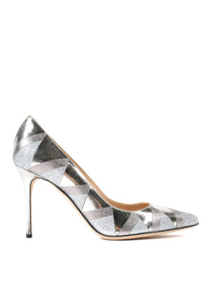 Sergio Rossi: court shoes - Godiva geometric pattern pumps