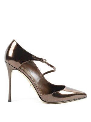 Sergio Rossi: court shoes - Malgosia patent leather court shoes