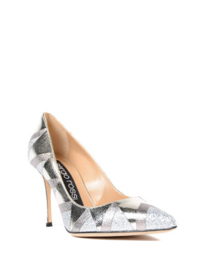 Sergio Rossi: court shoes online - Godiva geometric pattern pumps