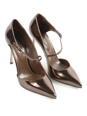 Sergio Rossi: court shoes online - Malgosia patent leather court shoes