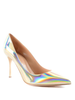 Sergio Rossi: court shoes online - Mirrored leather pumps