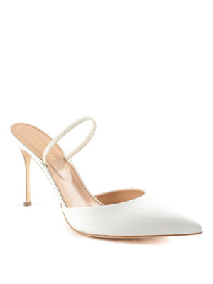 Sergio Rossi: court shoes online - Patent leather slingback pumps