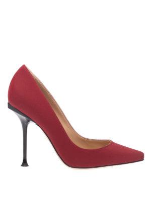 SERGIO ROSSI: scarpe décolleté - Décolleté Sr Milano rosse