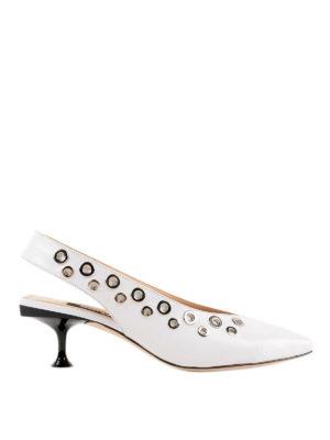 SERGIO ROSSI: scarpe décolleté - Slingback Sr Milano con occhielli