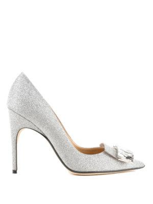 SERGIO ROSSI: scarpe décolleté - Décolleté sr1 gioiello in glitter