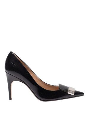 SERGIO ROSSI: scarpe décolleté - Décolleté Sr1 in vernice