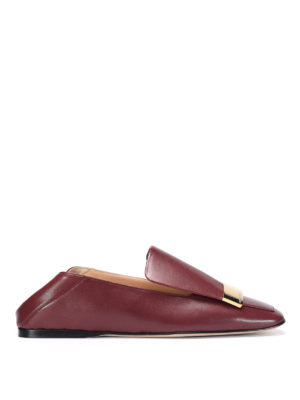 Sergio Rossi: Loafers & Slippers - Brushed leather loafers