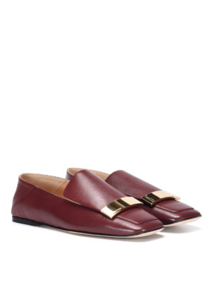 Sergio Rossi: Loafers & Slippers online - Brushed leather loafers
