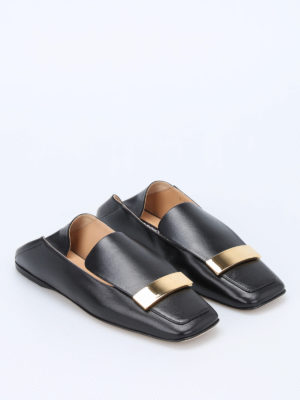 Sergio Rossi: Loafers & Slippers online - sr1 lambskin flat slippers