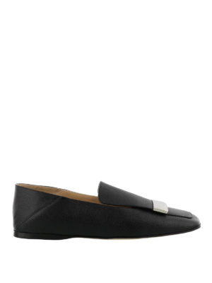 SERGIO ROSSI: Mocassini e slippers - Mocassini a punta squadrata