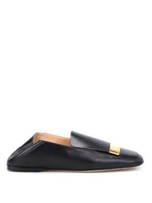 Sergio Rossi: Loafers & Slippers - sr1 lambskin flat slippers