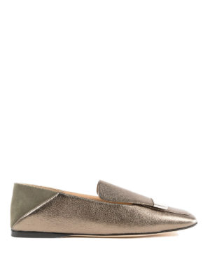 SERGIO ROSSI: Mocassini e slippers - Slipper Sr1 in pelle