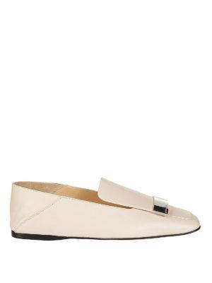 SERGIO ROSSI: Mocassini e slippers - Slipper sr1 in nappa neutral