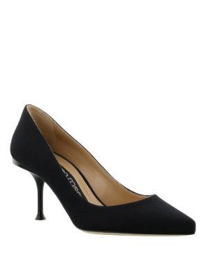 SERGIO ROSSI: scarpe décolleté online - Décolleté con logo metallico