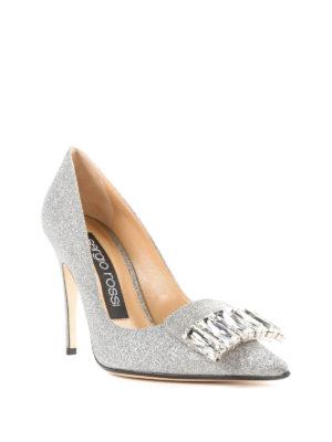 SERGIO ROSSI: scarpe décolleté online - Décolleté sr1 gioiello in glitter