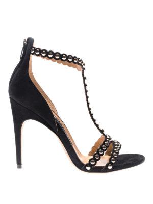 Sergio Rossi: sandals - Dafne stud embellished sandals
