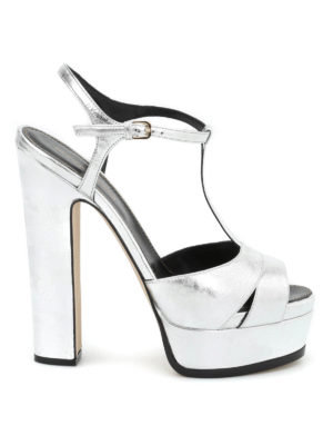 Sergio Rossi: sandals - Edwige Crash platform sandals