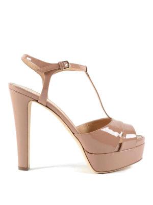 Sergio Rossi: sandals - Edwige patent sandals