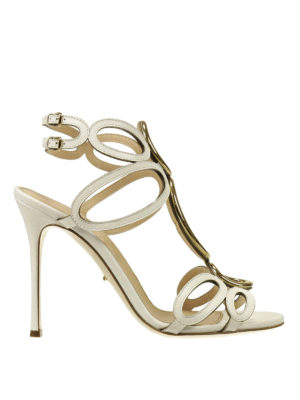 Sergio Rossi: sandals - Farrah open toe sandals