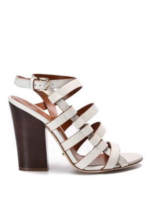 Sergio Rossi: sandals - Leather sandals