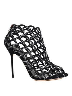 Sergio Rossi: sandals - Mermaid crystal sandals
