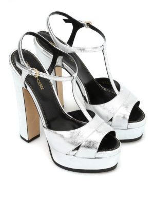 Sergio Rossi: sandals online - Edwige Crash platform sandals