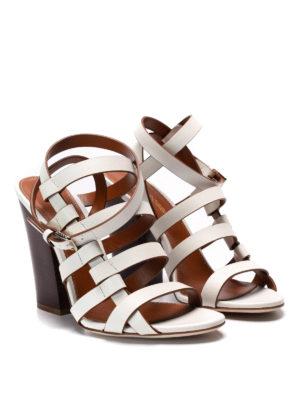 Sergio Rossi: sandals online - Leather sandals