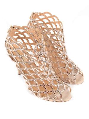 Sergio Rossi: sandals online - Mermaid crystal sandals