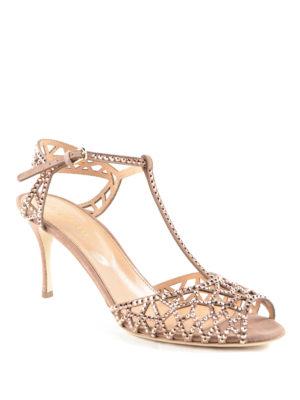 Sergio Rossi: sandals online - Trésor crystal sandals