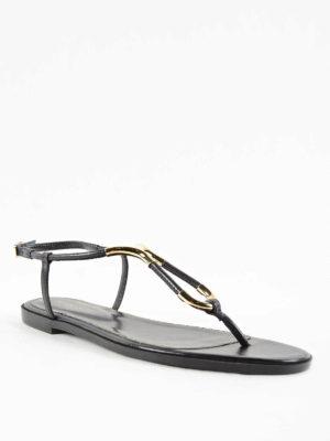Sergio Rossi: sandals online - Twist Naplys flat sandals