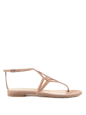 Sergio Rossi: sandals - Puzzle Royal thong sandals
