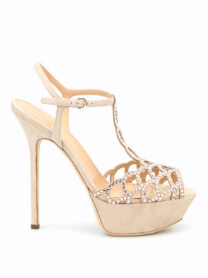 Sergio Rossi: sandals - Tresor Royal platform sandals