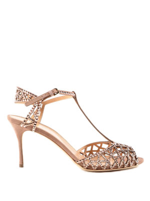 Sergio Rossi: sandals - Trésor crystal sandals