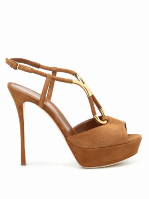 Sergio Rossi: sandals - Twist Royal platform sandals