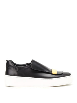 Sergio Rossi: trainers - sr1 Addict leather slip-ons