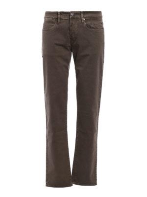 Siviglia: casual trousers - Five pocket drill cotton trousers