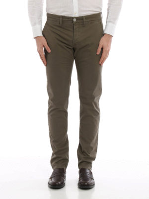 Siviglia: casual trousers online - Cotton casual trousers