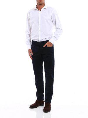 Siviglia: casual trousers online - Five pocket drill cotton trousers