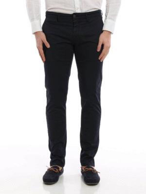 Siviglia: casual trousers online - Stretch cotton chino trousers