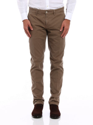 Siviglia: casual trousers online - Stretch cotton chino trousers