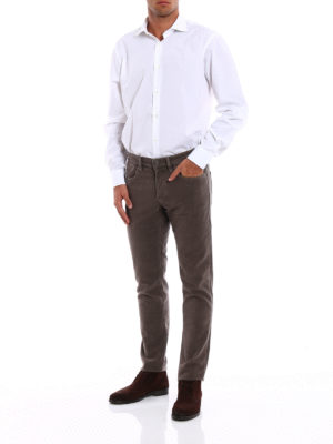Siviglia: casual trousers online - Stretch cotton five pocket trousers