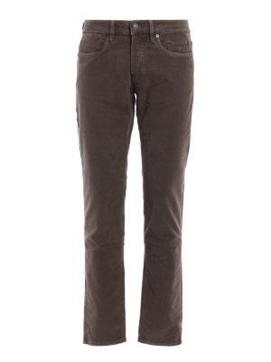 Siviglia: casual trousers - Stretch cotton five pocket trousers
