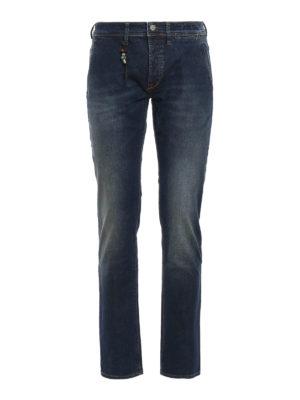 Siviglia: straight leg jeans - Stretch cotton jeans