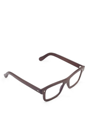 Smythe Les Vestes: glasses - Silver optical glasses