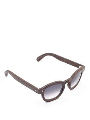 Smythe Les Vestes: sunglasses - Gold sunglasses